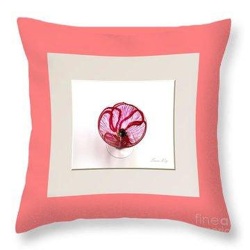 Poppy. Soul Inspirations Collection Throw Pillow by Oksana Semenchenko