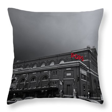Pops Throw Pillow by K Hines