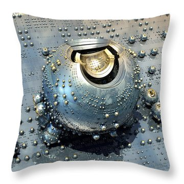 Populate Throw Pillow by Kevin Trow