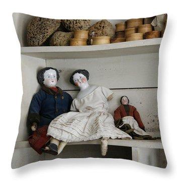 Porcelain Throw Pillow