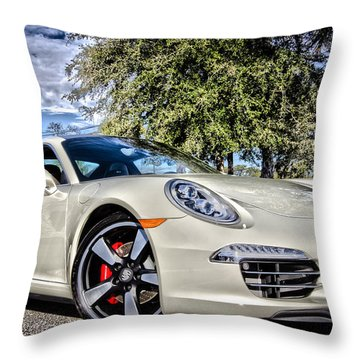 Porsche 50th Anniversary Limited Edition Throw Pillow