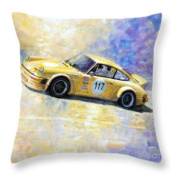 Porsche 911 S Typ G Josef Michl Throw Pillow