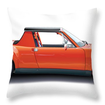 Porsche 914-6 Gt Throw Pillow