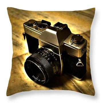 Porst Flex Slr Throw Pillow by Salman Ravish