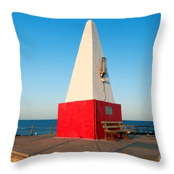 Port Denison Obelisk Throw Pillow