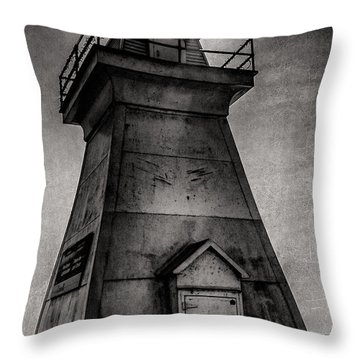 Port Dover Lighthouse Throw Pillow