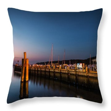 Port Jefferson Throw Pillow