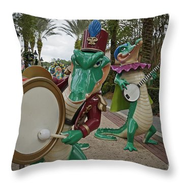 Port Orleans Throw Pillow
