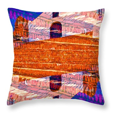 Porta Coeli Throw Pillow