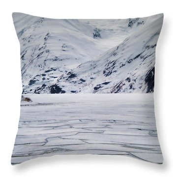 Portage Lake Throw Pillow
