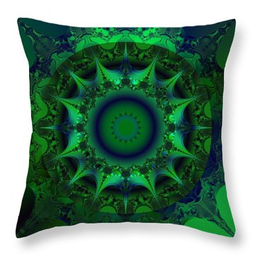 Portal Throw Pillow by Elizabeth McTaggart