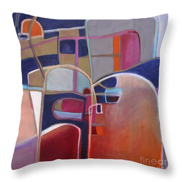 Portal No. 3 Throw Pillow