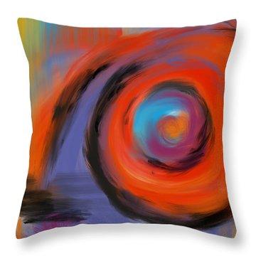 Portal Of Optimistic Torment Throw Pillow