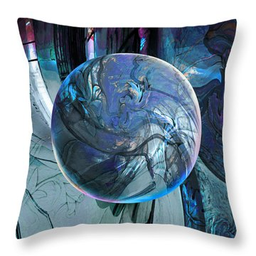 Portal To Divinity Throw Pillow
