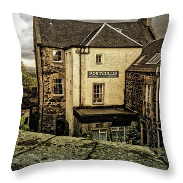 The Portcullis Throw Pillow