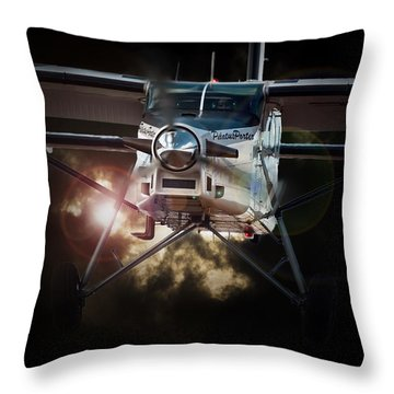 Porter Light Throw Pillow