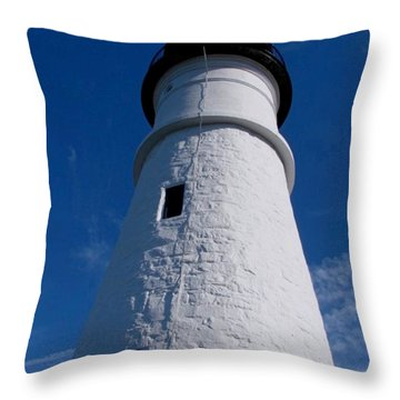 Portland Head Throw Pillow