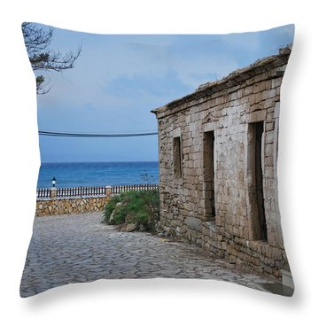 Porto Throw Pillow by George Katechis