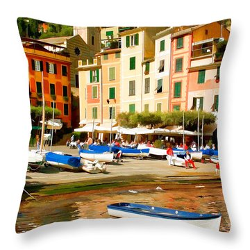 Portofino Throw Pillow