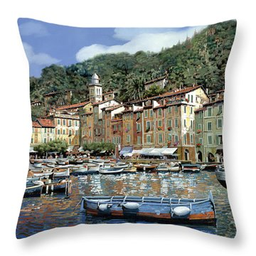 Portofino Throw Pillow by Guido Borelli
