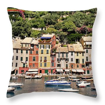 Portofino Panorama Throw Pillow