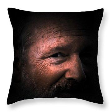 Portrait #1 Throw Pillow