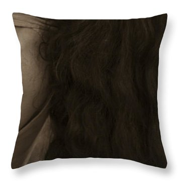 Portrait 4 Throw Pillow