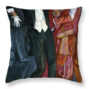 Portrait Director Vsevolod Meyerhold Throw Pillow