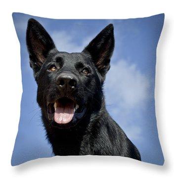 Portrait Of Adel Throw Pillow