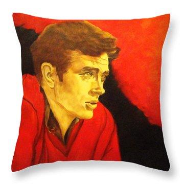 Portrait Of An Idol Throw Pillow