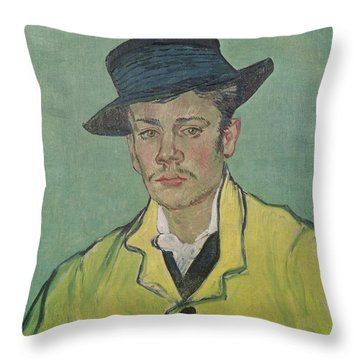 Portrait Of Armand Roulin Throw Pillow