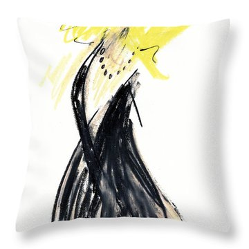 Portrait Of Dan Savage Throw Pillow by Patrick Morgan