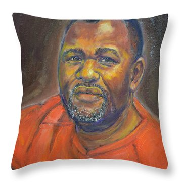 Portrait Of Felly Throw Pillow