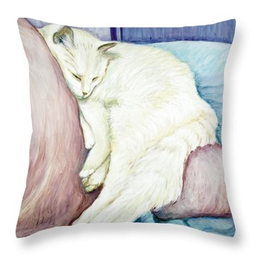 Portrait Of Monroe Throw Pillow