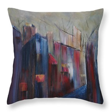 Port's Passage Throw Pillow