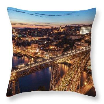 Porto Throw Pillows