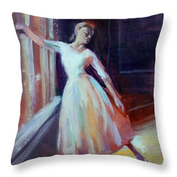 Pose II Throw Pillow