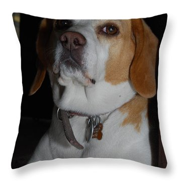 Pose Throw Pillow