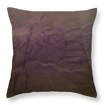 Pose1 Throw Pillow
