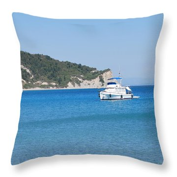 Poseidon 3 Throw Pillow
