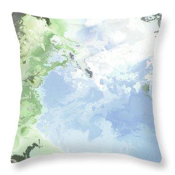 Poseidon Enosichthon Throw Pillow