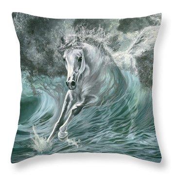 Poseidon's Gift Throw Pillow