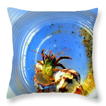 Posing Before Release Throw Pillow