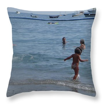 Positano - Occhiali Throw Pillow
