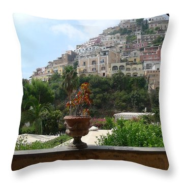 Positano - View Throw Pillow