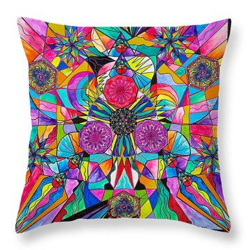 Positive Intention Throw Pillow