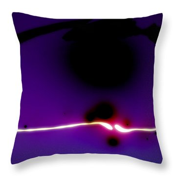 Positive Negative Light Throw Pillow by Matt Lindley