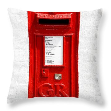 Throw Pillow featuring the photograph Post Box by Mariusz Czajkowski