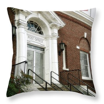 Post Office 38242 Throw Pillow