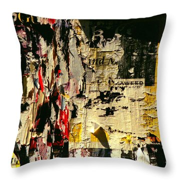 Poster Archaeology 5 Throw Pillow